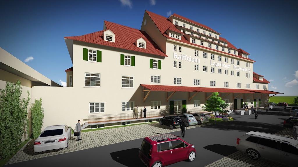 apartment hotel in ravensburg boss architekten. Black Bedroom Furniture Sets. Home Design Ideas