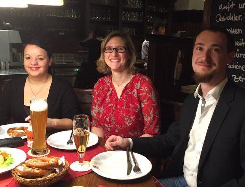 """Weihnachtsfeier 2015 im Brauhaus """"Drei Kannen"""""""